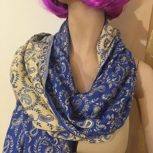 Paisley Silk scarf from Afghanistan
